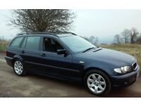 2003 BMW 320 D SE TOURING ESTATE DIESEL FULLY LOADED TOP SPEC 55 + MPG SERVICE HISTORY 1 YEARS MOT