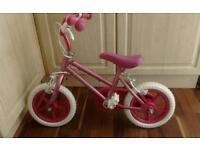 Little girl bike