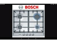 Bosch gas hob PCP615B90B. Brand new still in box.
