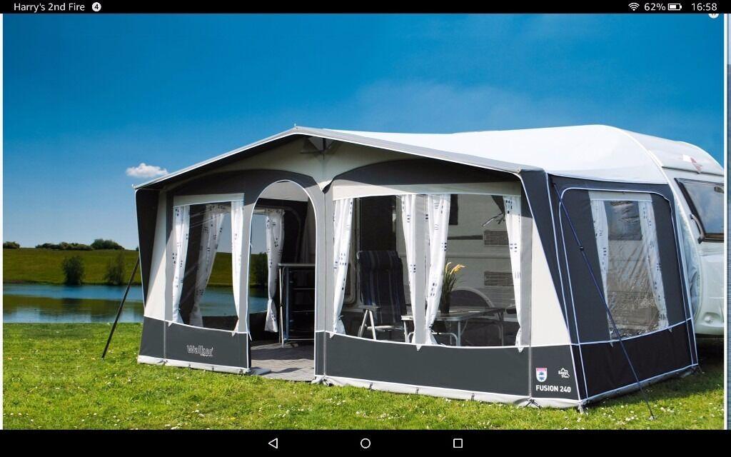 Caravan awning for sale Walker fusion 240 excellent ...