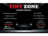 TINT ZONE WINDOW TINTING SERVICE IN SOUTH LONDON PRICES START FROM £50 **WE ALSO DO CAR REPAIRS**