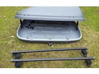 Roof box and bars Halfords
