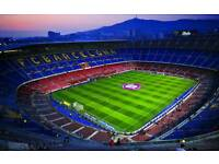 Trip to the camp nou to watch barcelona