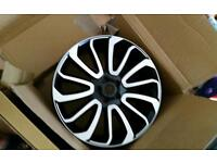 22 inch alloy new in box just one