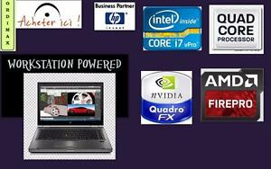 HP Elitebook 8470P Laptop  Intel i7- 2.7 GHz Intel Quad  Core  i7 , 8Gb memory Video Professionnel AMD Radeon HD