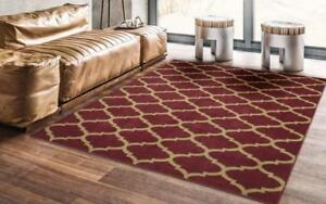 Ottomanson Royal Red Area Rug 5'x8' NEW ** 5 CORNERS FURNITURE**