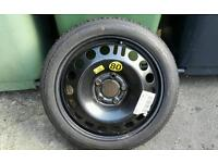 Vauxhall 5 stud Space Saver Wheel