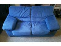 2 seater sofa with 2 matching armchairs!