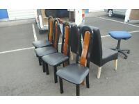 Selection of chairs free to uplift