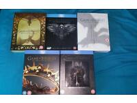 Game of Thrones Blu-ray seasons 1-5