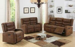 Power recliner Sofa + Love Seat + Single Chair for $1599