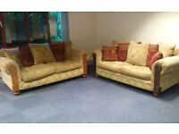 2 x 3 seater sofas. Only selling due to house move.