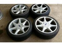 """Ford escorts fiesta softline alloy wheels 17"""" 4x108 pcd"""
