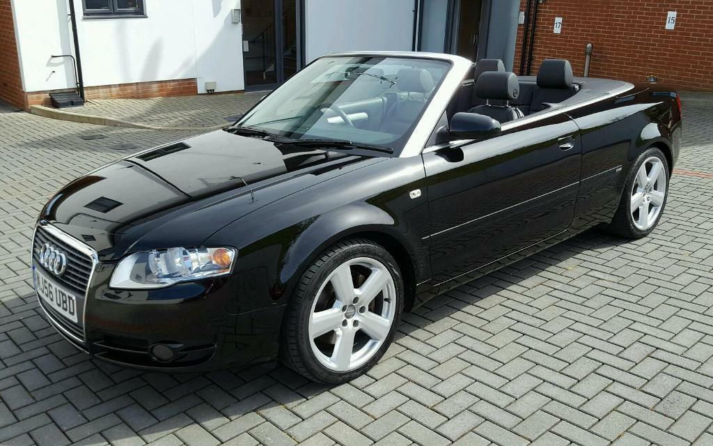 2007 Audi A4 Cabriolet Convertible 2 0 Tfsi S Line