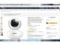 wifi security camera sale £30