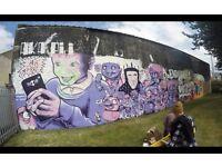 GRAFFITI / STREET ARTIST / MURAL DESIGNER FOR HIRE!!!