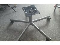 Ikea Metal Spoke Replacement Chair Base Star/Leg Swivel.....