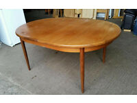 G Plan Solid Teak Retro Table