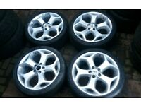 GENUINE FORD FOCUS ST 18 ALLOY WHEELS IMMACULATE MONDEO TRANSIT CONNECT VOLVO