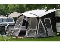 Kampa 2016 Fiesta 350 Air Pro Awning + Canopy & Carpet