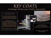 Painting, plastering and Mastic specialists