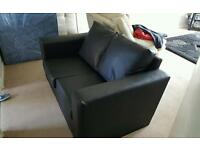 Brand new leather 2 seater