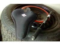 Cycle bike pump - gel seat cover