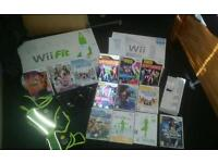 Nintendo wii lots of things with it