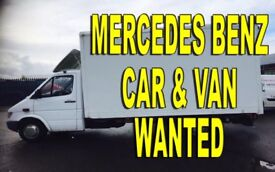 WANTED!!! MERCEDES SPRINTER 208D - 310D -312D - 412D ANY CONDITION