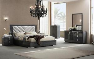 Queen Bedroom Furniture Storewide Sale- Stylish And Affordable 6 PC Bedroom Set  (ME1100)