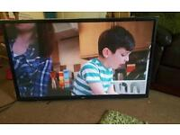 Lg 50 inch super slim full HD tv excellent condition fully working with remote control