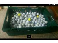 Golf balls 10 for £1 more than 200 available