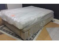 NEW, TOP BRANDS, DOUBLE & KINGSIZE DIVAN BEDS SETS FROM £99 to £169. FACTORY OUTLET