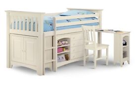 Julian Bowen Children's Wardrobe and Cabin Bed