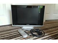 Logik TV Excellent Condition with remote and cable LCX15LN4 VGA slot for monitor use