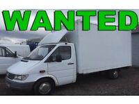 Volkswagen Crafter Transporter Caddy Van Wanted