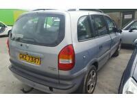 2003 Vauxhall Zafira 2.0dti SPARE PARTS AVAILABLE