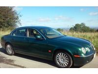 2005 JAGUAR S TYPE 2.7 SE DIESEL 1 YEARS MOT FULL HISTORY BRITTISH RACING GREEN