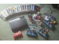 Ps3 with 17 games in lego dimentions and disney infinity