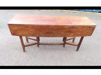 Old Vintage Teak Table ,Can Deliver