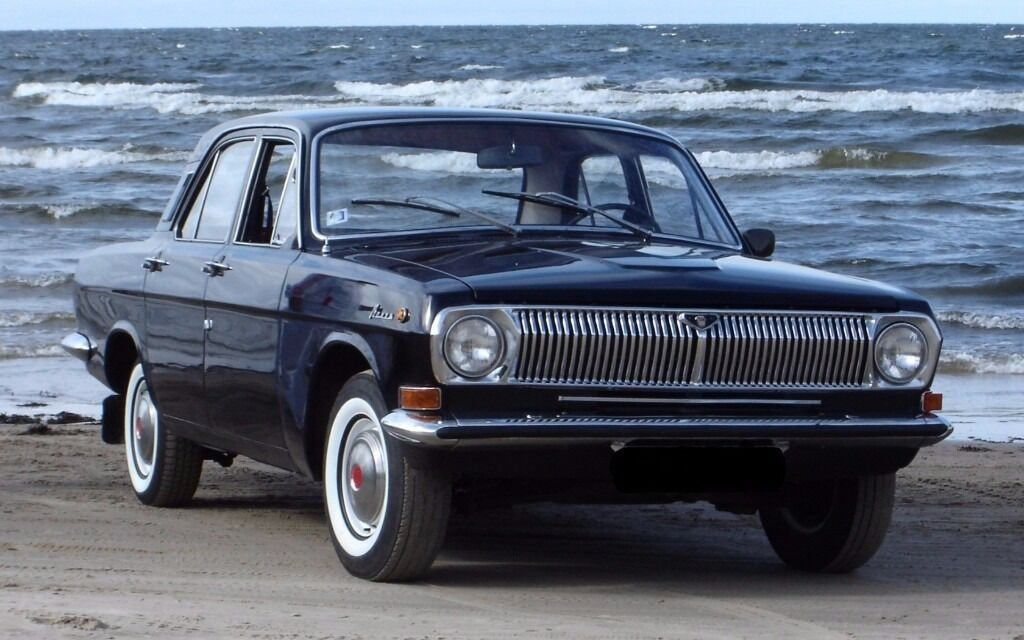 Russian Clic Car For Volga