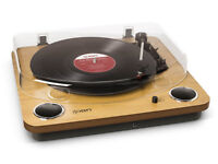ION Audio Max LP | Belt-Drive Turntable with Built-in Stereo Speakers