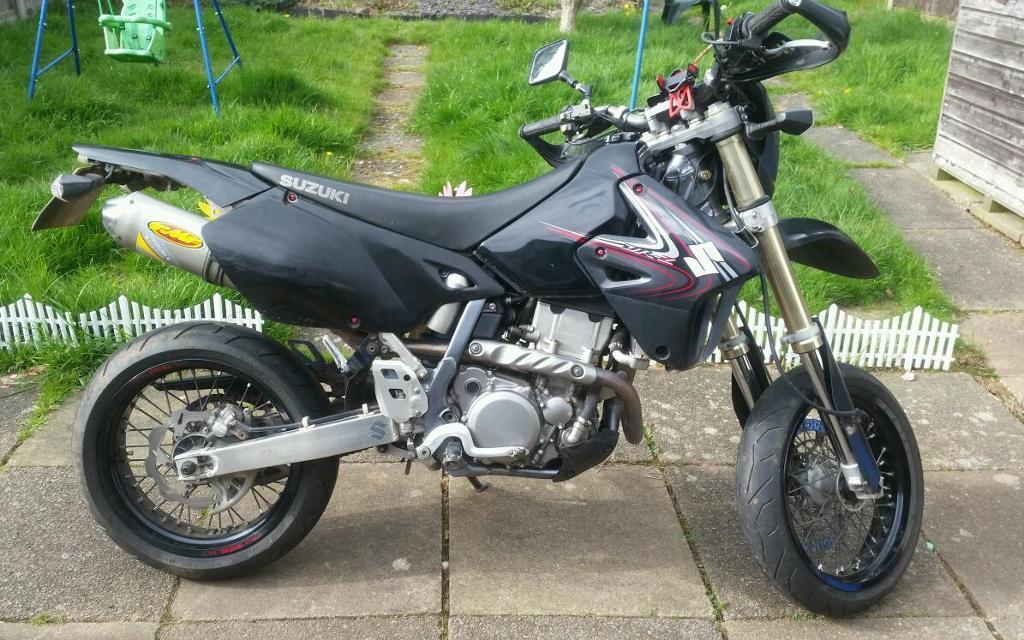 suzuki drz 400 sm 2008 fsh dr z400 supermoto in coventry. Black Bedroom Furniture Sets. Home Design Ideas