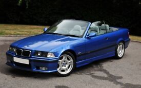 BMW M3 (E36) EVO Convertible. Rare low mileage example in excellent condition with FSH