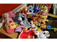 Baby toys 0mth+ excellent condition - Little Tikes, Disney, Bright Start and more