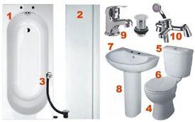 Full Complete Bathroom Suite