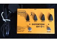 Rare, Providence Stampede SDT-1 Distortion pedal (hand made in Japan - like new condition) for sale