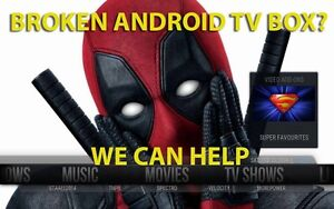 WE WILL FIX YOUR ANDROID BOX IN 30 MINUTES (647) 795-5964