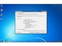 Stone Desktop PC Win 7 Pro with Samsung Monitor & WiFi