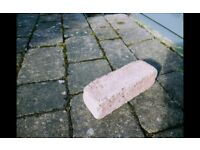Paving blocks wanted 210mm X 70mm X 70mm Pink (preferably)